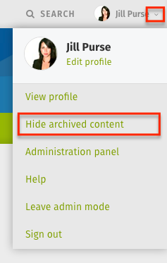 how to delete content on web archive