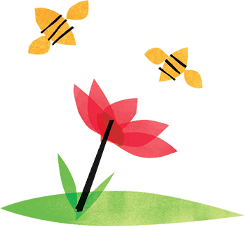 Flowers & Bees