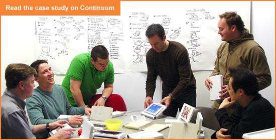 Group shot of Continuum designers