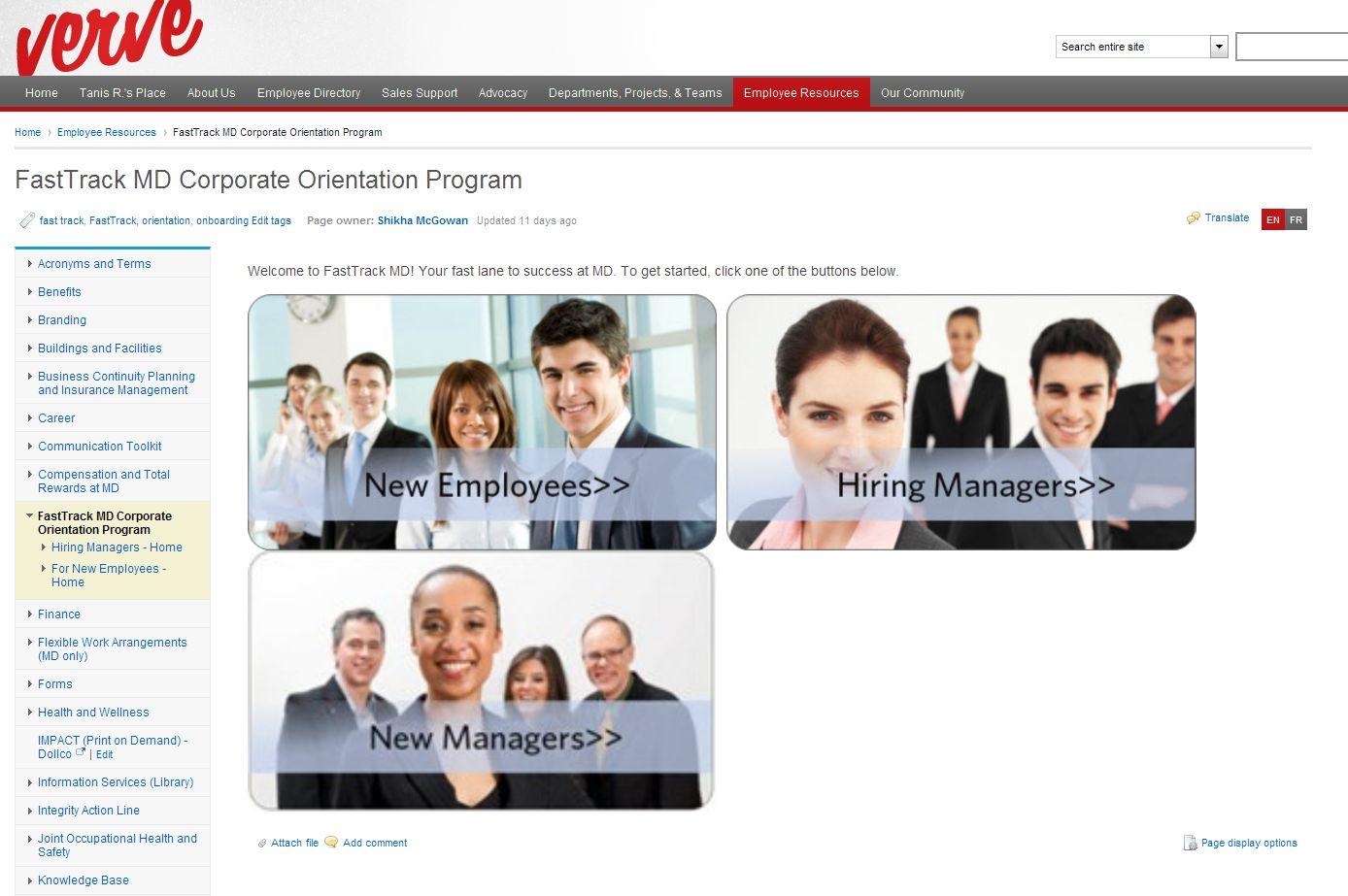 FastTrack MD Corporate Orientation Program
