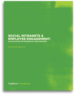 Social Intranets and Employee Engagement White Paper Cover