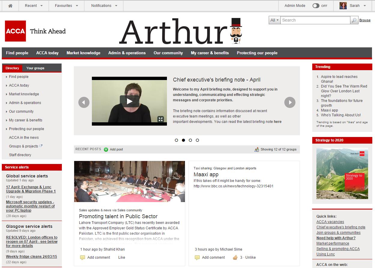 Arthur Screenshot