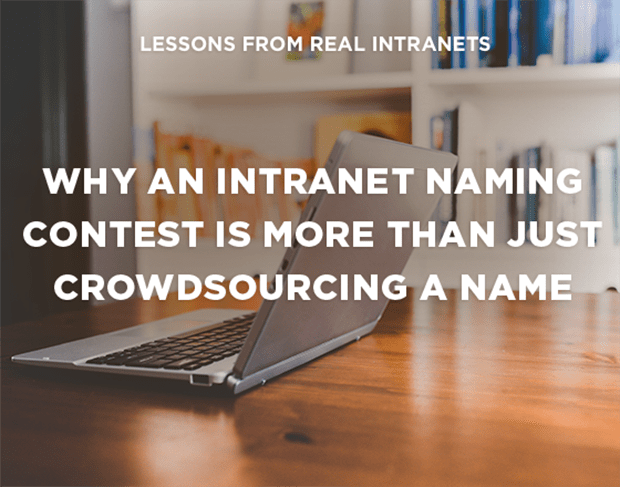 intranet naming contest