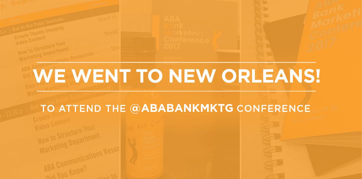 ThoughtFarmer at ABA Bank Marketing Conference
