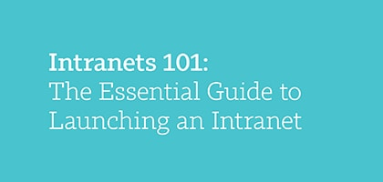 Webinar: How to Create an Effective Intranet Strategy