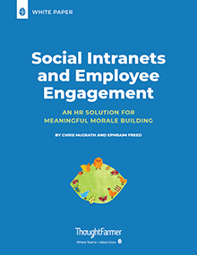Social Intranets and Employee Engagement_Cover