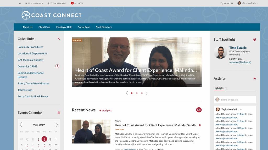 CMH intranet