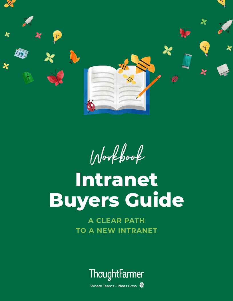 Intranet Buyers Guide, Cover