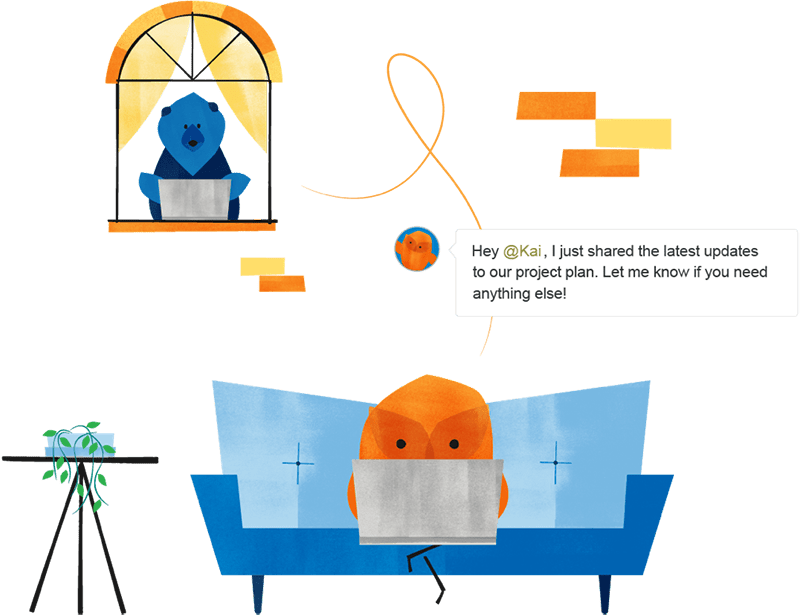 Homepage Illustrations Couch V04